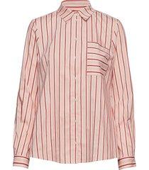blouse långärmad skjorta rosa marc o'polo