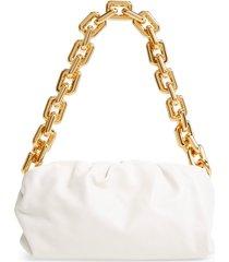 bottega veneta the chain pouch leather shoulder bag - none