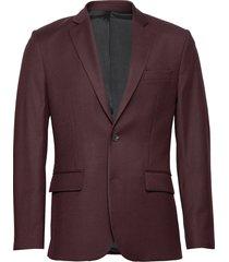 hopper soft-re flannel blazer colbert rood j. lindeberg