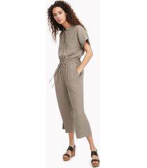 tommy hilfiger women's essential jumpsuit ash - s