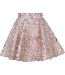dolce & gabbana jacquard short circle skirt