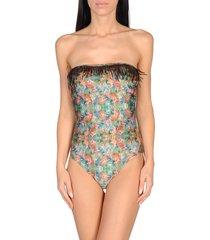 helis brain one-piece swimsuits