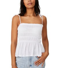women's babydoll longline cami top