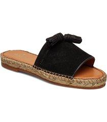 clair sandal shoes summer shoes flat sandals svart morris lady