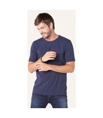 camiseta básica stretch masculina