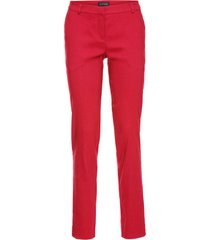 pantaloni eleganti elasticizzati (rosso) - bodyflirt