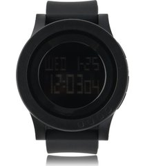 skmei 1142 hombres de la moda minimalista dial grande reloj digital 50m resistente al agua