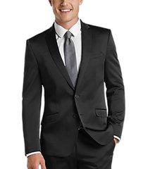 kenneth cole reaction techni-cole black skinny fit suit