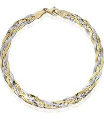 bracciale colette oro bicolore per donna