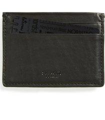 men's shinola leather card case -