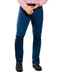 envío gratis pantalon lenin azul para hombre croydon