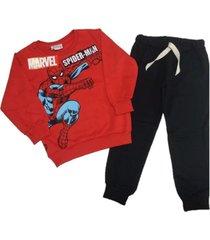 conjunto rojo marvel spiderman