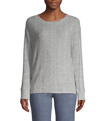 glenda crewneck ribbed sweater