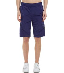 c.p. company chrome lens pocket shorts