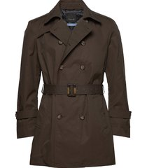 techno cotton - trench b trench coat rock beige sand