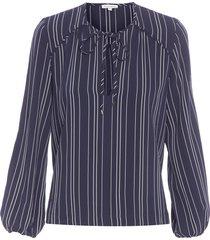camisa feminina antônia - azul