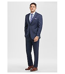 1905 collection tailored fit stripe men's suit with brrr°® comfort by jos. a. bank