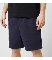 y-3 men's classic terry shorts - legend ink - l