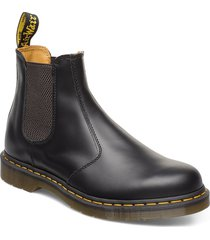 2976 ys black smooth shoes chelsea boots svart dr. martens