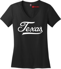 texas tee texan pride home state pride tee ladies v-neck tee