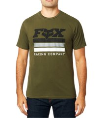 fox men's street legal logo t-shirt