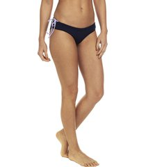 traje de baño pantie doble faz lila-azul asics kaitlyn bikini panty