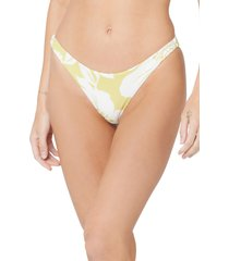 l space l. space camacho bikini bottoms, size large in havana blooms at nordstrom