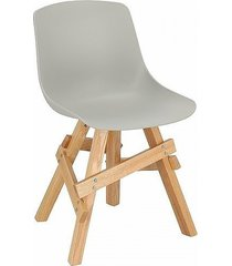 krzesło madera boho szare