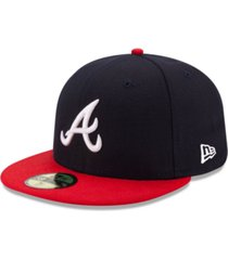 new era atlanta braves authentic collection 59fifty cap