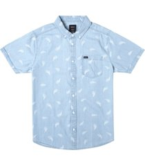 men's hastings floral short sleeve woven shirt