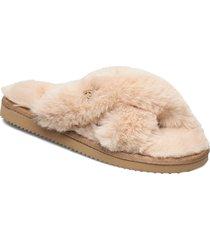 lala slipper slippers tofflor brun michael kors shoes