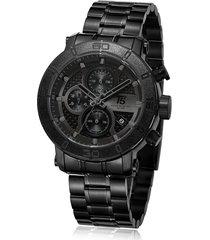 reloj de hombre t5 pulso acero h3635g-c - negro