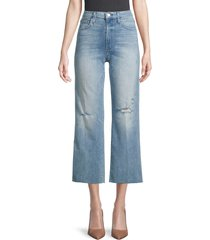 joe's jeans women's the high-rise cropped jeans - light blue - size 23 (00)