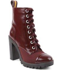 bcbgeneration women's pauline combat bootie women's shoes