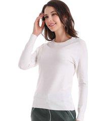 sweater básico blanco nicopoly