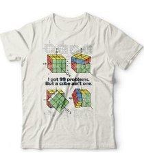 camiseta cubo mágico studio geek - unissex
