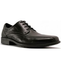 zapato leather tape negro hush puppies