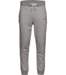 d1. graphic jersey pants sweatpants mjukisbyxor grå gant