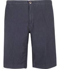 incotex ribbed waist plain shorts
