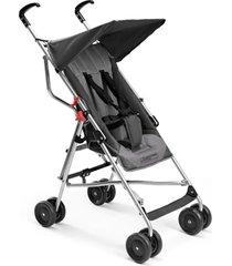 carrinho de bebê multilaser - até 15 kg guarda-chuva pocket cinza - bb502 - preto
