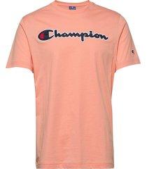 crewneck t-shirt t-shirts short-sleeved rosa champion