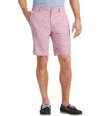jos. a. bank men's 1905 collection tailored fit oxford shorts - big & tall clearance, red, 44 regular