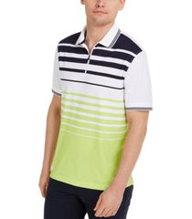 club room men's ombre sporty polo shirt, created for macy's