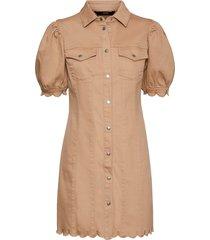 denimklänning vmaviis 2/4 puff short dress