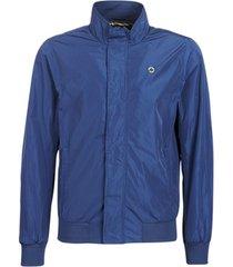 windjack scotch & soda ams blauw simple harrington jacket