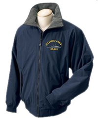 1 stop navy uss arnold j isbell dd-869 portlander ship jacket sizes s through 4x