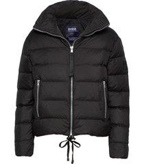 short light weight jacket fodrad jacka svart svea