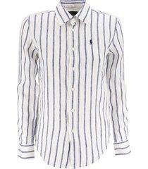 gestreept overhemd met relaxte pasvorm
