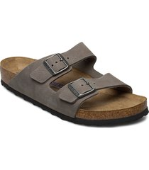 arizona soft footbed shoes summer shoes sandals grå birkenstock