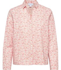 adult pajama shirt in poplin top rosa gap